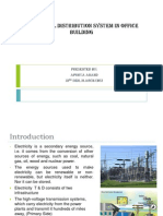 Electrical Distribution System in Office Building