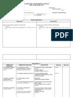 Planificari Chitara I-IV 2011