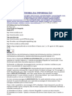 Teoria da Informaçao e Dicionário Tecnico Fotog. Escola Focus