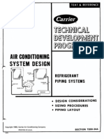 Carrier Piping Design