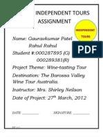 Wine Tasting- Australia