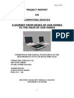 Project Report on Computing Devices