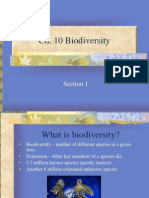 Ch 10 Biodiversity