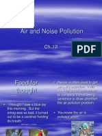 Ch. 12 Air Pollution