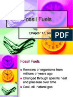 Ch 17 Fossil Fuels