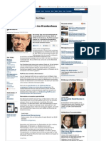 Strahlenfolter - Christian Wulff - Nach Ruecktritt kolikartige Bauchkrämpfe
