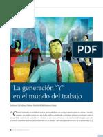 La Generacion y en El Mundo Del Trabajo