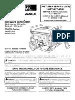 Generator Ps 3000