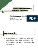 USINABILIDADE - Saulo Guimarães