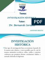 investigacion historica