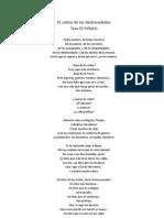 EL Salmo de Los Des Here Dados