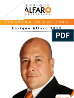 Programa de Gobierno Enrique Alfaro