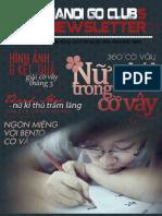 Bản tin clb Cờ Vây Hà Nội số 5 - tháng 3/2012