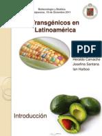 Transgénicos en Sudamérica (1)