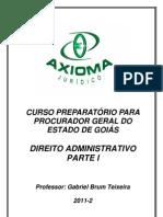 PARTE I Apostila_-_Direito_Administrativo_Fundamental_-_Axioma_-_2011