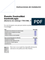 Puente ControlNet ControlLogix