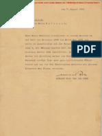 Lettre 1 Mies Van Der Rohe