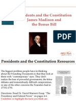 PC 1 Federal Power-James Madison and the Bonus Bill-Student Program