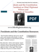 PC I Chief Diplomat-Wilson and the Treaty of Versailles-Student Program