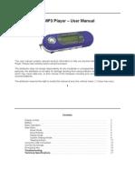 Digital MP3 Player - User Manual
