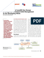Landfill Gas Energy