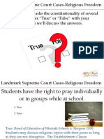 RL Supreme Court Cases Activity-Student Program
