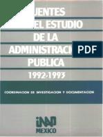 55 Fuentes Para El Estudio de La Admin is Trac In Pblica 199