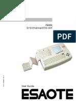 Esaote P8000 - User Manual