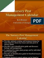 Nursery Calendar