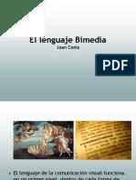 lenguaje bimedia