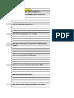 Swot Analysis Format