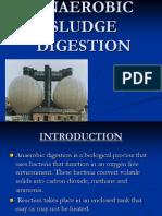 Anaerobic Sludge Digestion