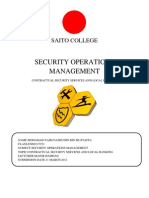 Security Operations Mangemnt