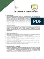 Comision de Evaluacion 2009 Ciclo Basico.