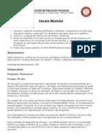 Módulo Historia y Tradiciones - ERAUP 2006