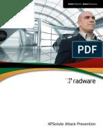 Defense Pro Apsolute Attack Prevention Brochure