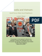 Thayer Cambodia and Vietnam Relations