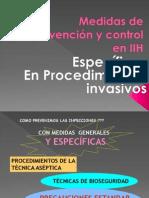 16. 20 Medidas Específicas de prevencion y control en IIH