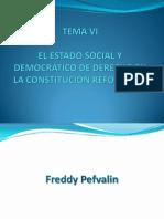 EL ESTADO SOCIAL Y DEMOCRÁTICO DE DERECHO EN
