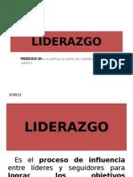 Modulo III.- Liderazgo