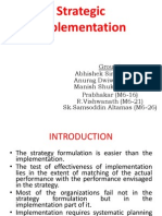 Strategic Implementation Mba   Organizational Structure