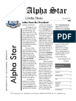 Phi Delta Theta - Alpha Star Spring 2012