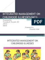 Integrated Management on Childhood Imci Report