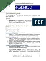 TOXICOLOGIA ARSENICO