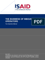 USAID - Inbound Tour Operator Manual