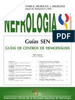 Guias de Centros de Hemodialisis Senefro 2006