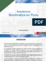 Bioclimatismo en La Construccion