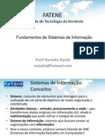Fundamentos de Sistemas de Informação - Aula 01