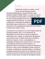 Anemia en Puno