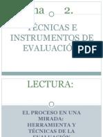 TEMA 2 Herramientas y Tecnicas de Evaluación Racionalista